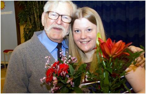 Emelie räddade livet på sin farfar